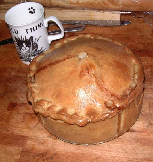 The Frankenpie, 2.3Kg of homemade porkpie goodness